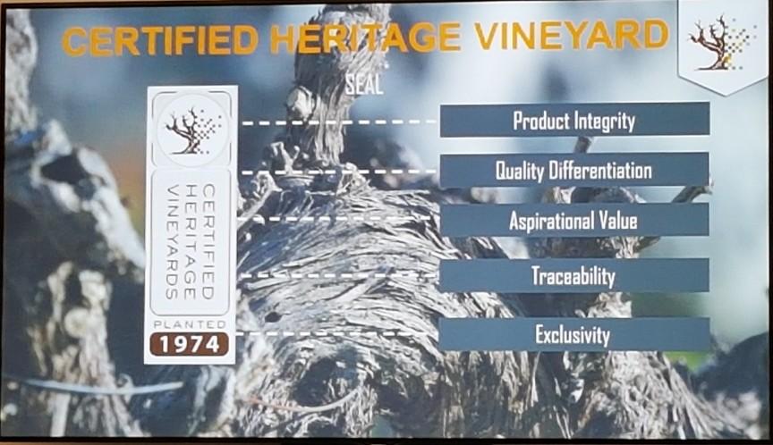 old vines met zegel